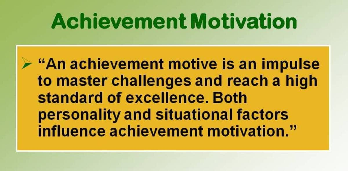 Image result for high achievement motivation
