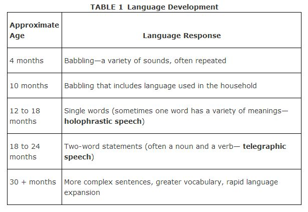 Image result for development of language psychology
