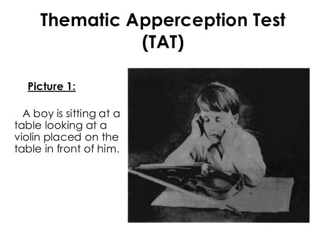 Image result for thematic apperception test psychology